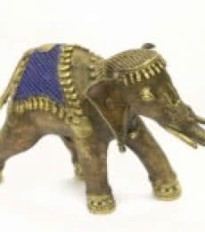 Elephant Rider | Craft by artist Bhansali Art | Brass
