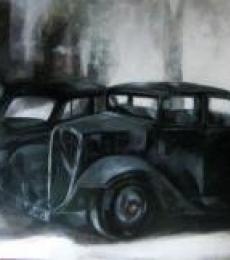 Jyotirmoy Bhuyan   Acrylic Painting title Car on Canvas   Artist Jyotirmoy Bhuyan Gallery   ArtZolo.com