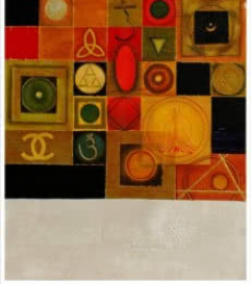 Yogic Mantra 1 | Mixed_media by artist Anurag Swami | Canvas