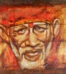 Anurag Swami | Oil Painting title Sai Baba II on Canvas | Artist Anurag Swami Gallery | ArtZolo.com