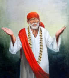 Anurag Swami | Oil Painting title Sai Baba IV on Canvas | Artist Anurag Swami Gallery | ArtZolo.com