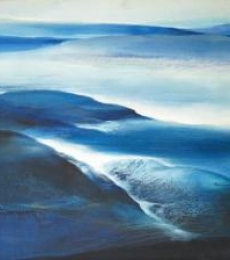 Rockscape | Painting by artist Vinod Sharma | oil | Canvas