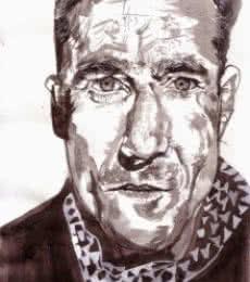 Daniel Day Lewis | Painting by artist Saurabh Turakhia | watercolor | Paper
