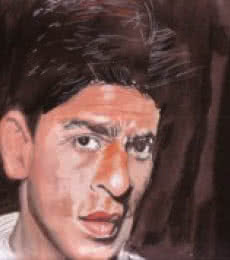 Portrait Watercolor Art Painting title 'Passion Is Everything' by artist Saurabh Turakhia