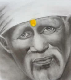 """""""Om Sai""""   Painting by artist Swati Sharma   Other   Paper"""