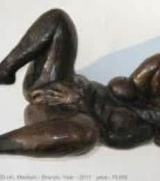 Desire Series IV | Sculpture by artist Manjushri Chakraborty | Bronze