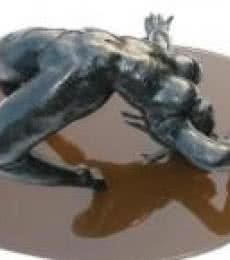 Desire Series II   Sculpture by artist Manjushri Chakraborty   Bronze