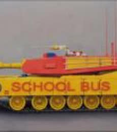 School Bus   Painting by artist Ravi Sachula   oil   Canvas