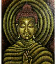 Lord buddha painting | Painting by artist Ramesh | acrylic | Canvas Board
