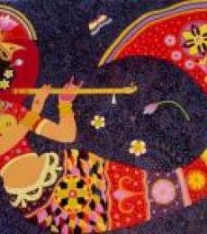 Dream girl 2   Painting by artist Bhaskar Lahiri   acrylic   Canvas