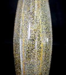 Wish Tree Glass Vase   Glass art by artist Shweta Vyas