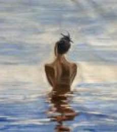 Fantasy Oil Art Painting title 'Intensity' by artist Vikas Singh