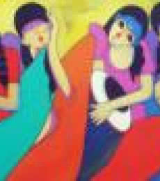 Music Lovers   Painting by artist Dnyaneshwar Bembade   acrylic   Canvas