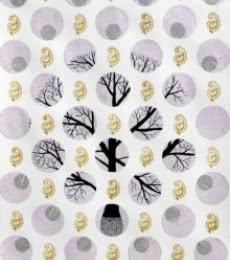 Adhoor Vriksh   Painting by artist Sumit Mehndiratta   mixed-media   Paper