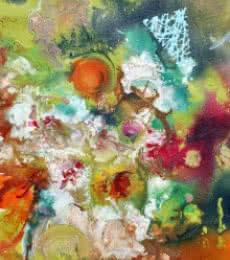 Pop Fluid No. 5   Painting by artist Sumit Mehndiratta   acrylic   Canvas