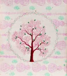 Chamnavrit | Painting by artist Sumit Mehndiratta | acrylic | Handmade Paper