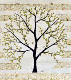 Nature Acrylic Art Painting title Purushotam by artist Sumit Mehndiratta