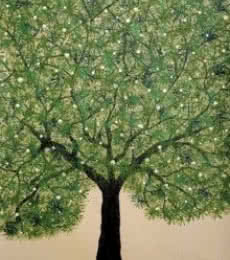 Treescape 3 | Painting by artist Sumit Mehndiratta | acrylic | Canvas