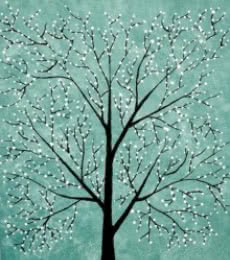 Treescape 5 | Painting by artist Sumit Mehndiratta | acrylic | Canvas