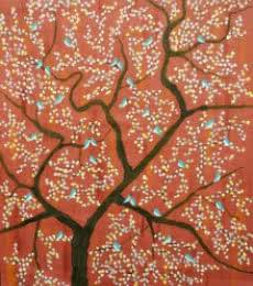 Nature Acrylic Art Painting title 'Vanmesh Riza' by artist Sumit Mehndiratta