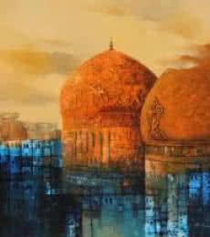 Aq Arif Artwork | Painting by artist Aq Arif | acrylic | Canvas