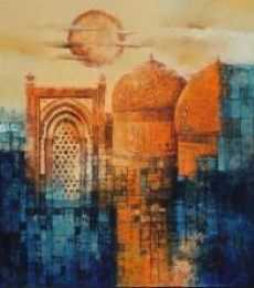 Aq Arif Artwork | Painting by artist Aq Arif | acrylic | Canvas
