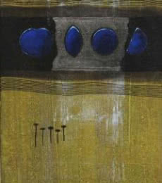 Shape Abstract Iii | Painting by artist Asim Paul | acrylic | Canvas