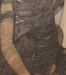 A Boy | Painting by artist Siddharth Shingade | charcoal | Canvas