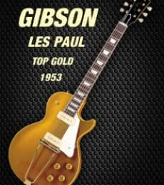 Shavit Mason | Gibson les paul top gold 1953 Photography Prints by artist Shavit Mason | Photo Prints On Canvas, Paper | ArtZolo.com