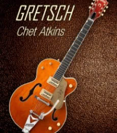 Gretsch Chet Atkins | Photography by artist Shavit Mason | Art print on Canvas