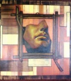Framing The Past | Painting by artist Parul V Mehta | mixed-media | Canvas