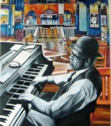 Jazz1 | Painting by artist Parul V Mehta | oil | Canvas