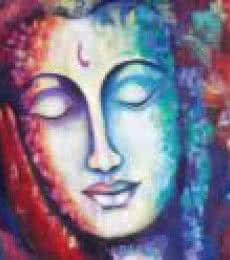 At Peace | Painting by artist Purnima Gupta | acrylic | Canvas