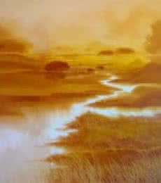 Nature Oil Art Painting title Untitled IV by artist Narayan Shelke