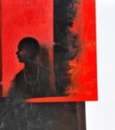 The Boy | Painting by artist Narayan Shelke | acrylic | Canvas