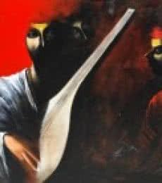 The Musician II   Painting by artist Narayan Shelke   acrylic   Canvas