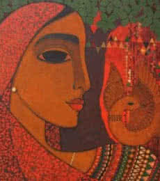Dove | Painting by artist Mamta Mondkar | acrylic | Canvas