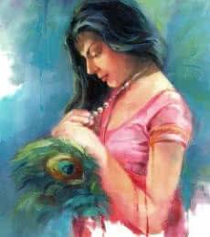 Love 2   Painting by artist Raviraj   oil   Canvas Board