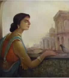 100 Years Ago | Painting by artist Arun Samadder | oil | Canvas