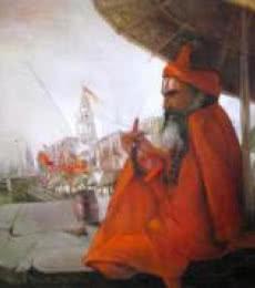 Ghats Of Banaras   Painting by artist Arun Samadder   oil   Canvas