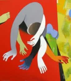 Inspiration | Painting by artist Pradip Sarkar | acrylic | Canvas