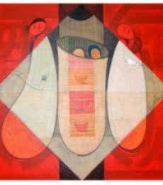 Love Of Journey | Painting by artist Dattatraya Thombare | acrylic | Canvas