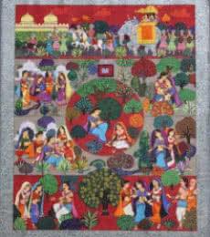 Malavikagnimitram | Painting by artist Satish Chavhan | watercolor | Paper