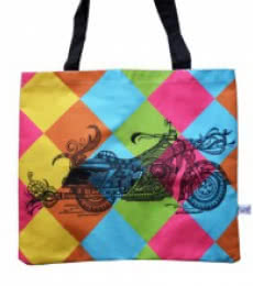 Bike bag | Craft by artist Sejal M | Canvas