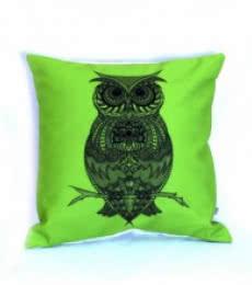 Designer Owl Cushion | Craft by artist Sejal M | Canvas