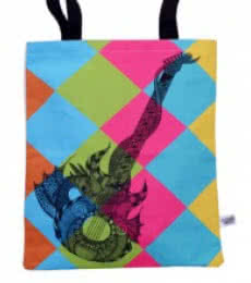 Guitar Bag | Craft by artist Sejal M | Canvas