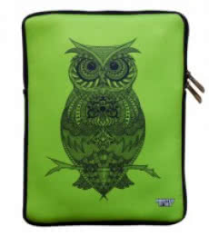 Owl iPad Sleeve | Craft by artist Sejal M | Neoprene
