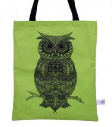 Owl Bag | Craft by artist Sejal M | Canvas