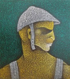 Man Ii | Painting by artist Satyajeet Shinde | acrylic | Canvas