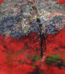 Untitled   Painting by artist Bhaskar Rao   acrylic   Canvas
